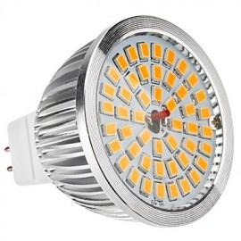 MR16(GU5.3) 6.5W 48x2835SMD 520LM Warm White Light LED Spot Bulb (12V)