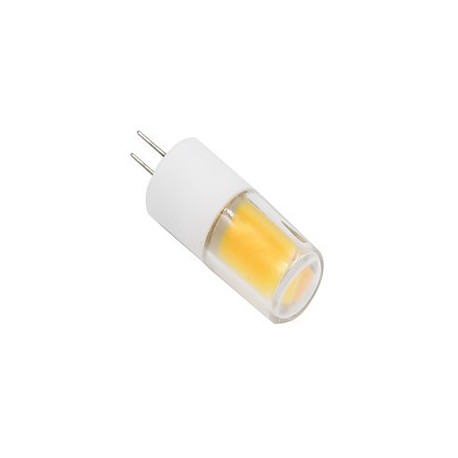 1pc//5pc//10pc 2W//3W G4 LED COB 12V Bi-Pin Light Bulb 3000K Warm White IP65 rated