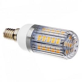 5W E14 LED Corn Lights T 36 SMD 5050 420-450 lm Warm White AC 220-240 V