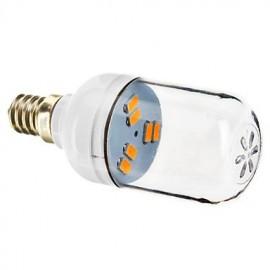 E12 6 SMD 5730 70-90 LM Warm White LED Spotlight AC 220-240 V