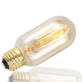 GMY 1PC T45 Edison Bulb Vintage bulb 40W E27 AC220-240V Decorate Bulb