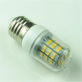 5W E26/E27 LED Corn Lights T 60 SMD 2835 500 lm Warm White Decorative AC 220-240 V