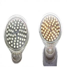 GU10 3.5W 350LM LED Spotlight Lighting LightEmittingDiode 3528 White (6000-6500K) Silver(Asoorted-color)