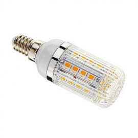 5W E14 LED Corn Lights T 36 SMD 5050 480 lm Warm White Dimmable AC 220-240 V