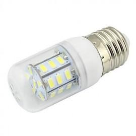 4W Transparent Cover E27 LED Corn Bulb 27 SMD 5730 280Lm AC/DC 12V/24V or AC 110V/220V Warm White/Cool White (1 Piece)