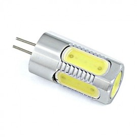 3W G4 Aluminium LED Bulb 5 COB Spotlight 260 lm Warm White / Cool White DC 12V (1 Piece)