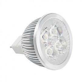 LED 12V DC/AC MR16 GU5.3 4W Spotlight Lamp Cup for Indoor Home Room Warm/Cool White (1 Piece)