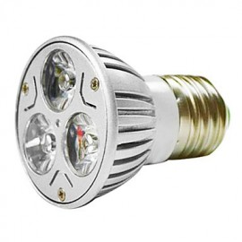 MR16 3W 1W*3 LEDs 270-300LM Warm White/White Light LED Spot Bulb (AC 100--220V)