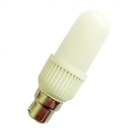 8W B22 LED Globe Bulbs G45 LED SMD 3328 800LM lm Warm White / Cool White Decorative V 1 pcs