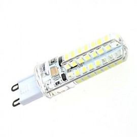7W High Performance G9 Based SMD 2835 Warm Light/White Light Tiny LEDs Corn Light (64 LEDs 550LM)