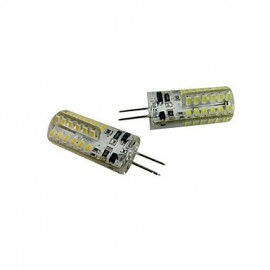 1 pcs G4 5W 48X SMD 3014 1152LM 2800-3500/6000-6500K Warm White/Cool White Corn Bulbs DC 12V