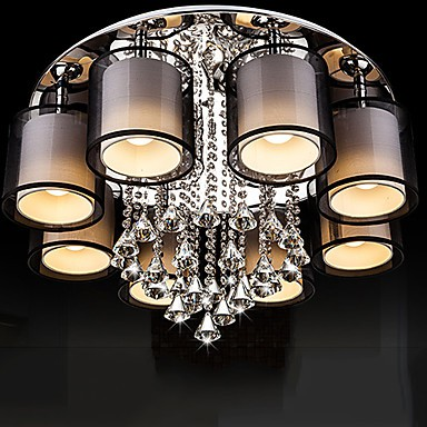 Pendant Lights Contemporary Living Room Metal