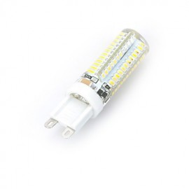 G9 7W 700LM 6500K/3000K 96-3014 SMD Warm/Cool White Light LED Silicone Bulb (AC 220~240V)