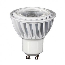 5W GU10 LED Spotlight MR16 1 COB 350-400 lm Warm White Dimmable AC 220-240 V
