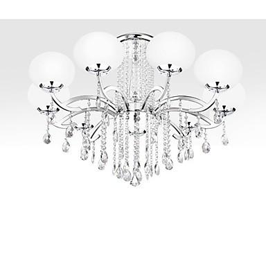 Chandelier Crystal Luxury Modern Living 9 Lights
