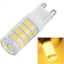 G9 6W 500lm 3500K/6500k 51x2835 LED Warm/Cool White Light Bulb Lamp (AC220-240V)