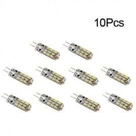 G4 LED Corn Lights T 24 SMD 3014 150 lm Warm White / Cool White DC 12 V 10 pcs
