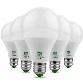 5Pcs E27 5730SMD 9W 18LED 700-850Lm Warm White Cool White Super High Brightness LED Bulb (AC/DC 12-24V)