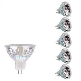 3W GU5.3 LED Spotlight MR16 1 COB 230/240 lm Warm White/Cool White DC/AC 12V 6 pcs