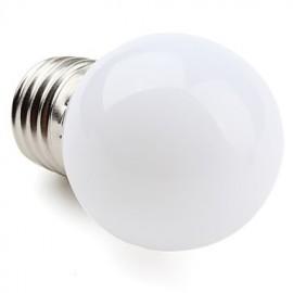 1W E26/E27 LED Globe Bulbs G45 12 SMD 3528 30 lm Warm White AC 220-240 V