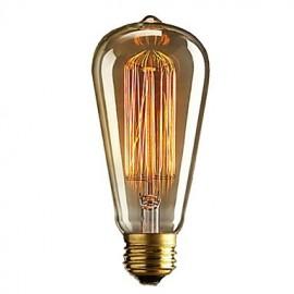 Retro Vintage E27 Artistic Filament Bulb Industrial Incandescent 40W