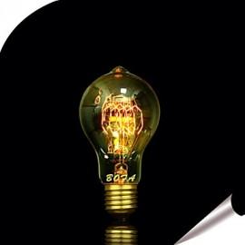 E27 25W A19 Edison Tungsten Filament Bulb 60
