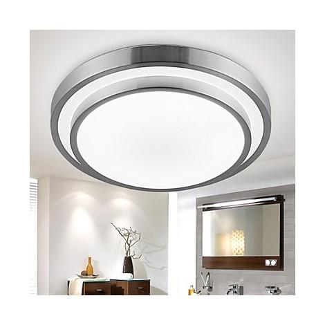 flush mount lights led 18w bathroom kitchen light round simple modern diameter 35cm lighting pop. Black Bedroom Furniture Sets. Home Design Ideas