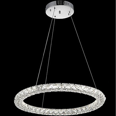Ring Crystal Ceiling Pendant Lights Led