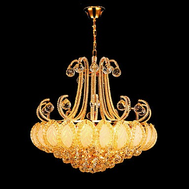purchase cheap 4f0b4 2c47c Modern Luxury Chandeliers Crystal Living Room LED Pendant Light Diameter  50CM Contains 8 LED Bulbs