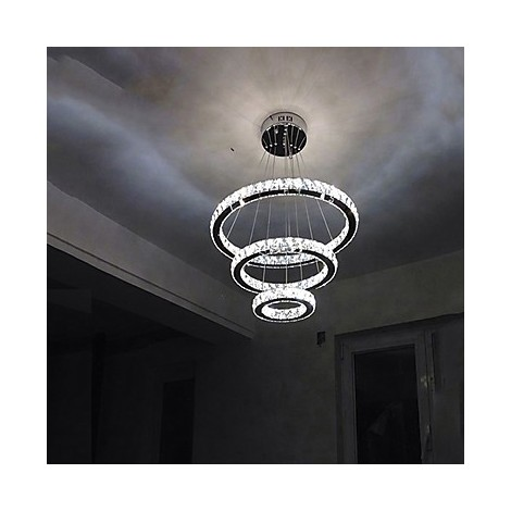 Led Crystal Pendant Light Modern Chandelier Lighting Lamps