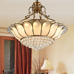 51 Traditional/Classic / Rustic/Lodge LED / Bulb Included Brass Metal Flush Mount Living Room / Bedroom / Dining Room