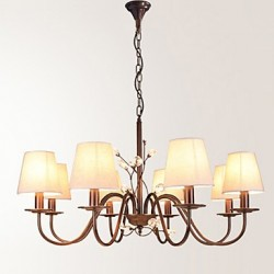 8 Lights Chandelier Modern/Contemporary Painting Feature for Bedroom / Dining Room