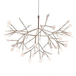Modern/Contemporary Rustic/Lodge Vintage Country Brass Feature for LED MetalLiving Room Bedroom Dining Room Study Chandelier