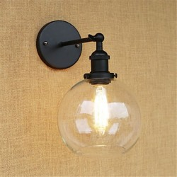 40W E26/E27 Country Retro Painting Feature for Mini Style Bulb Included Eye Protection Ambient Light Wall Sconces