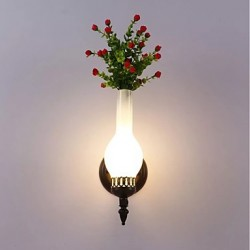 LED Integrated Modern/Contemporary Modern/Comtemporary Painting Feature for Bulb IncludedAmbient Light Wall Sconces