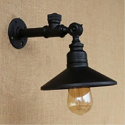 40W E27 Rustic/Lodge Painting Feature for Bulb Included,Ambient Light Wall Sconces Wall Light