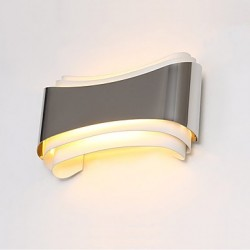 5W LED Integrated Modern/Contemporary Chrome Feature for LED,Ambient Light Wall Sconces Wall Light