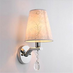 5 E14 Modern/Contemporary Silver Feature for Crystal LED Bulb IncludedAmbient Light Wall Sconces Wall Light