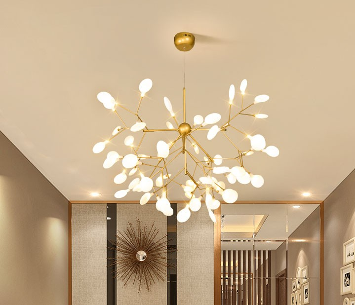 2019 New Modern Contemporary Fireflies Feature For LED Metal Living Room Bedroom Dining Study