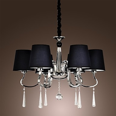 40W Modern/Contemporary / Traditional/Classic / Rustic/Lodge / Vintage / Island Chrome Metal ChandeliersLiving Room / Bedroom / Dining
