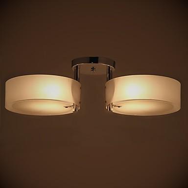 Flush Mount Modern/Contemporary 2 Lights Ceiling Light ...