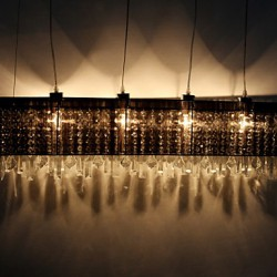 Max 60W Modern/Contemporary / Island Crystal Others Metal Pendant Lights Dining Room