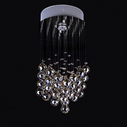 50W 1Light Clear light K9 Crystal Chandelier Lamp