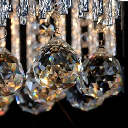 MAX40W Modern/Contemporary / Traditional/Classic Crystal Metal ChandeliersLiving Room / Bedroom / Dining Room / Study Room/Office / Kids