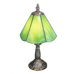 Table Light with 1 Light Green