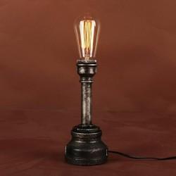 Table Lamps, Rustic/Lodge Metal