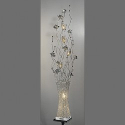 Floor Lamps Crystal/LED/Arc Modern/Comtemporary/Traditional/Classic/Novelty Metal