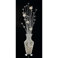 Floor Lamps Crystal/LED/Arc Modern/Comtemporary/Novelty Metal