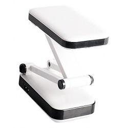 2W 24-LED White Light Rechargeable Fold Eyeshield Reading Table Desk Lamp