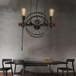American Bar Iron wheel Chandelier